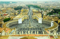 Rome- St.Peter's Basilica Square (Horizontal) by Gautam Tingre