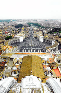 Rome- St.Peter's Basilica Square (Veritcal) by Gautam Tingre