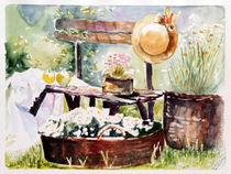 In The Garden 1 von aquarellka