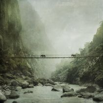 Marsyangdi Nadi (river) von Tom Lemisiewicz