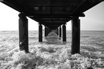 Under the pier by George Panayiotou