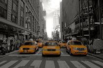 NYC Taxi Army by keyan
