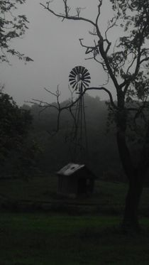 Windmill in the Mists by Joel Furches