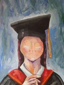 Faceless Graduate by Matt Hughes