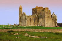 Ruins of the Rock of Cashel cathedral and fortress von Danita Delimont