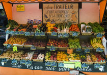 Produce at market in Calvi by Danita Delimont