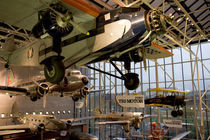 Aircraft displayed in Smithsonian Air and Space Museum by Danita Delimont