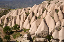 Middle East central part of Turkey in Cappadocia and the volcanic rock formations von Danita Delimont