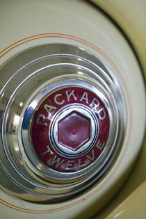 Packard Automobile Hubcap Detail von Danita Delimont