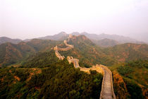 Colorful scenic at the great Wall of China in Jinshanling von Danita Delimont