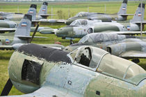 Yugoslav Aeronautical Museum at Belgrade Airport-Obsolete Grounded Aircraft of the Serbian Airforce von Danita Delimont