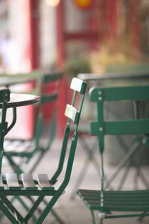 Outdoor Cafe Tables / Smith Street von Danita Delimont