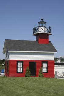 Lighthouse relocated shore in Douglas near Saugatuck Michigan by Danita Delimont