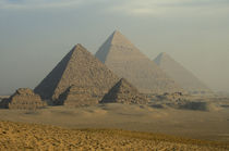 Giza Plateau Desert von Danita Delimont