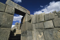 Good example of Inca stonework von Danita Delimont