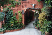 Villa entrance to garden von Danita Delimont