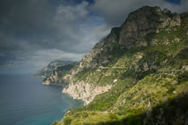Campania (Amalfi Coast) Positano: Morning View of the Amalfi Coast von Danita Delimont