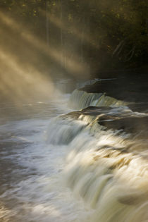 Sunbeams on Tahquamenon Falls by Danita Delimont