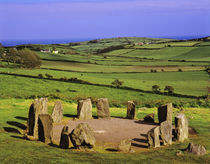 The Dromberg Stone Circle near Glandore in West Cork by Danita Delimont