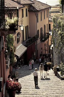 Salita Serbelloni stairs area von Danita Delimont