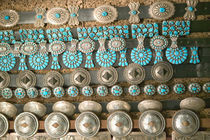 Santa Fe: Turquoise & Silver Belts For Sale by Danita Delimont