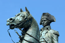 Statue of General George Washington on horseback by Danita Delimont
