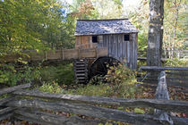 Cable mill in Cades Cove area of Great Smoky Mountains National Park by Danita Delimont