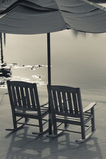 Lakeside chairs by Danita Delimont