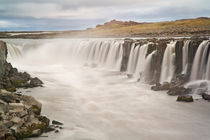 View of Selfoss Waterfall von Danita Delimont
