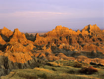 Badlands National Park in South Dakota von Danita Delimont