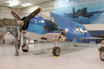 An F-6F Hellcat World War II fighter plane at the Palm Springs Air Museum by Danita Delimont