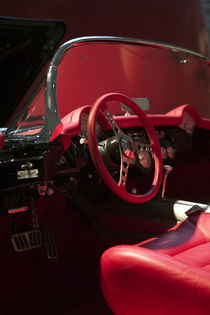Interior of 1960 Corvette von Danita Delimont
