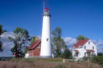 Tawas Point Lighthouse by Danita Delimont