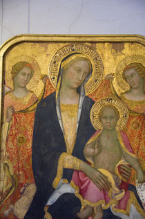 Italian Maconna & Child icon von Danita Delimont