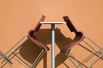 Cafe Table and Chairs by Danita Delimont