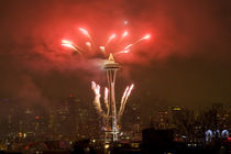 New Year Celebration at the Space Needle von Danita Delimont