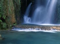 Waterfall in desert oasis von Danita Delimont