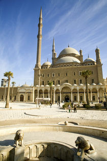 The imposing Mohammed Ali Mosque and plaza atop the Citadel is modeled along Ottoman Turkish lines and constructed in the mid-19th century von Danita Delimont