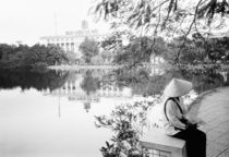 Hoan Kiem Lake View (NR) by Danita Delimont