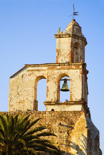 The bell tower of the church of San Francisco by Danita Delimont