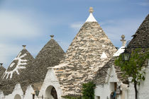 Unesco World Heritage Site Trulli House Roof Detail von Danita Delimont
