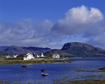 Plockton on Loch Carron is a popular yachting center in the Highland of Scotland von Danita Delimont