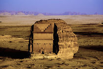 Qasr Farid tomb von Danita Delimont