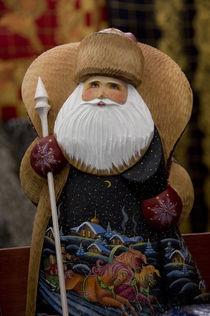 Russian wooden Santa by Danita Delimont