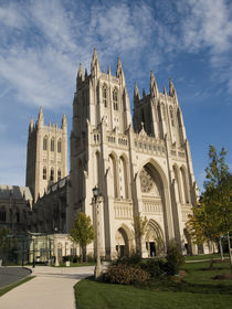 Work on the Washington National Cathedral began in 1907 and ended in 1990 with the completion of the west towers von Danita Delimont
