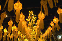 Lanterns for Loi Krathong festival by Danita Delimont