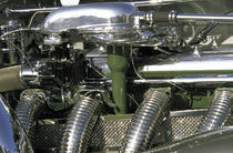 1933 Dusenberg 20 Grand engine detail von Danita Delimont