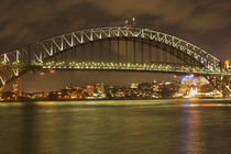 Sydney Harbour Bridge at Night von Danita Delimont