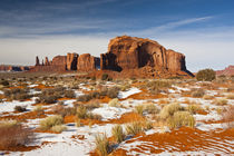 Monument Valley in the snow by Danita Delimont