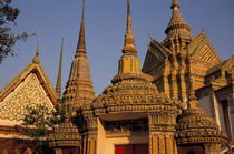 City's oldest and largest Buddhist temple von Danita Delimont